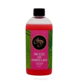 Shiny Garage Pink Gloss SZAMPON Z WOSKIEM 500ML