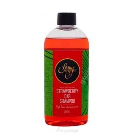 Shiny Garage Strawberry SZAMPON Z WOSKIEM 500ML